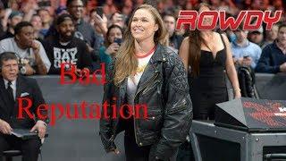 "WWE ""Rowdy"" Ronda Rousey 1st Theme Song - Bad Reputation"