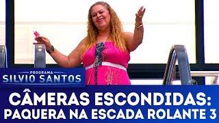 Paquera na Escada Rolante 3 - Love Escalator Prank 3 | Câmeras Escondidas (07/01/18)