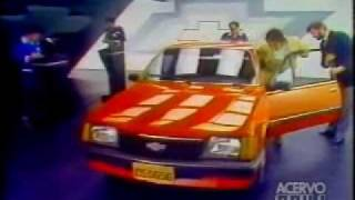 comercial Chevrolet Monza 1983