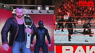 WWE 2K19: The New IC Champ Dean Ambrose Calls Out Seth Rollins ft. Updated Rollins/Ambrose Trons