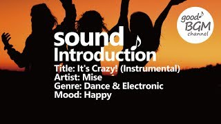 Dance & Electronic [ BGM ] [ ダンス ] [ good music ] [ 作業用 ] [ 音楽 ] It's Crazy! (Instrumental) - Mise