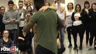 CURTIS & CAROLA [UrbanKiz Int] ✦ Fusion Kizomba Roma 2017 ✦