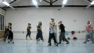 black eyed peas 'imma be' choreography