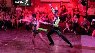 Urquiza Music Bar ~ Nahir Romano & Maxi Solís (salsa)