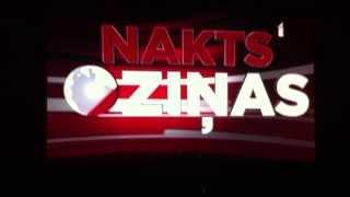Часы и заставка новостей на тв канале LTV1