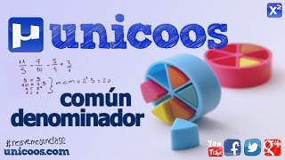 Imagen en miniatura para Suma de fracciones con mínimo común múltiplo
