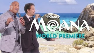 "Lin-Manuel Miranda & Dwayne ""The Rock"" Johnson Sing ""You're Welcome"" (From ""Moana"")!"
