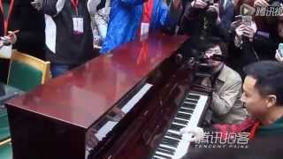 "Donnie Yen Live Piano Performance -"" Your Song "" by Elton John - Beijing Film Academy"