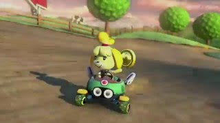 Mario Kart 8 - Wii Moo Moo Meadows - 150cc Shell Cup - No Commentary