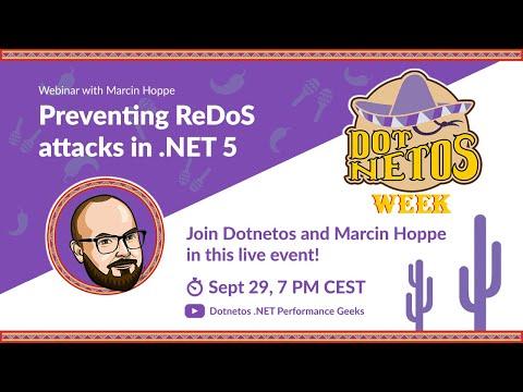 Preventing ReDoS attacks in .NET 5