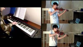 Beauty and the Beast - Tale as Old as Time (violin, piano) Ft. Kyle Landry