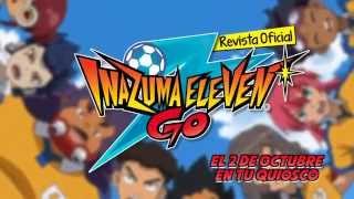 REVISTA Nº2 DE INAZUMA ELEVEN GO!!!