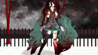 MMD Zombie Miku The Banshee Strikes (SHORT) for my BFF