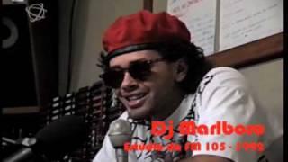 Acervo Voador :: DJ Marlboro dá entrevista para Circo Voador :: 1992