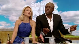 """Seal Sings """"Kiss From a Rose"""" for Kelly"""