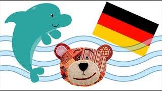 Nomes de animais marinhos - Alemão para crianças