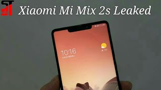 Xiaomi Mi Mix 2s With iPhone X- Like Notch Spotted Leaked