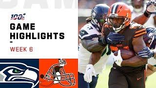 Seahawks vs. Browns Week 6 Highlights   NFL 2019
