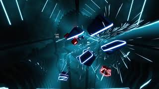 Custom Beat Saber song: Tokyo Drift (KVSH remix) - perfect run