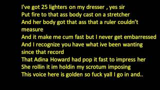Kendrick Lamar Backseat Freestyle Lyrics