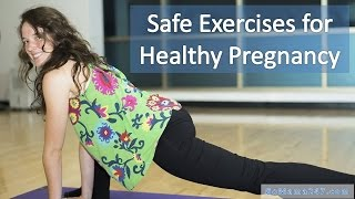 Simple and Safe Exercises for Healthy Pregnancy