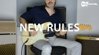 Dua Lipa - New Rules - Electric Guitar Cover by Kfir Ochaion