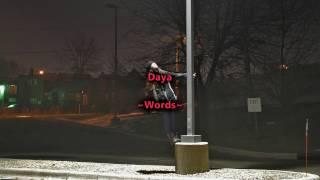 Daya - Words (lyric video)