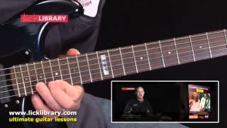 Rainbow In The Dark - Solo Performance With Danny Gill By Dio From Learn To Play Dio DVD