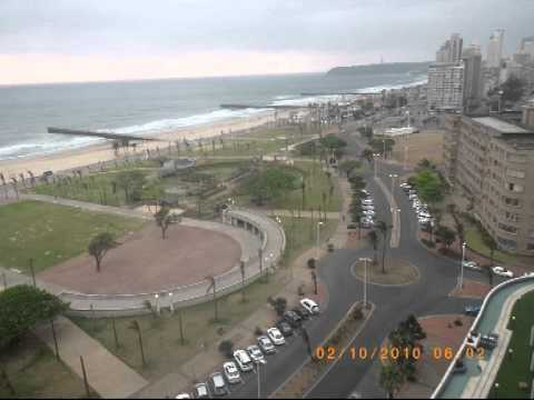 2010-10-02 Dawn at Southern Sun Hotel in Durban