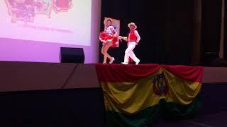Segundo concurso de la danza Salay en Madrid  / Categoría pareja