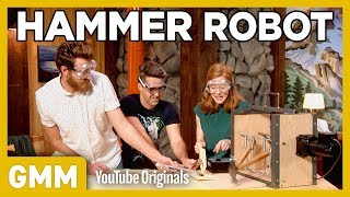 We Made A Hammer Robot ft. Simone Giertz