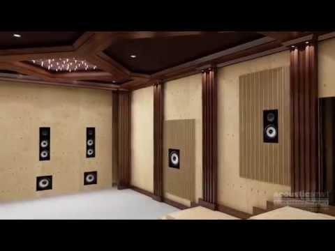 AcousticSmart Home Theatre Construction Video