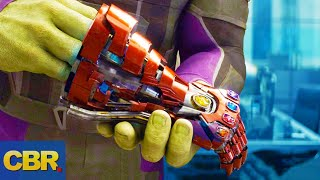 What Nobody Realized About The New Infinity Gauntlet In Avengers Endgame
