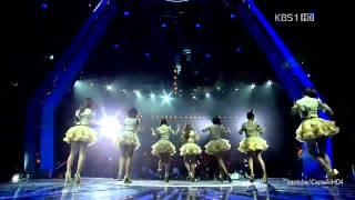 [HD] 111020 (20 Oct 2011) T-ara - Roly Poly Live (KBS 13th Hanzhong Festival in Beijing)