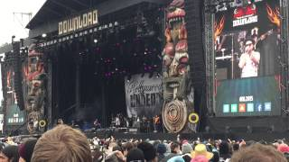 Hollywood Undead - Everywhere I Go (Live) @ Download Festival 2015, 13-06-2015