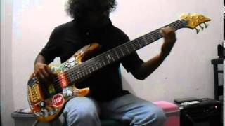 Donna Summers - Funky Town (bass cover)