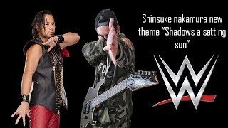 "Shinsuke Nakamura NEW ENTRANCE THEME ""Shadows of a Setting Sun"" By Shadows Of The Sun GUITAR COVER"