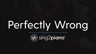 Perfectly Wrong (Piano Karaoke Instrumental) Shawn Mendes
