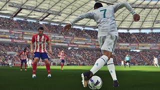 PES 2018 - Goals &  Skills Compilation #5 HD 1080P 60FPS