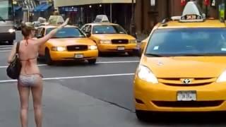 뉴욕 비키니 노출녀 NEW YORK BIKINI GIRL