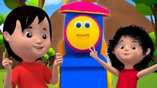 鲍勃火车   翻山越岭   3D 韵为孩子   教育歌曲   儿童诗歌   孩子们的音乐   Bob Over The Mountains   Kids Tv China   儿童漫画和婴儿歌曲