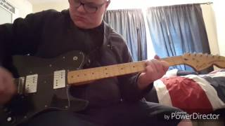 Foo fighters - enough space guitar cover
