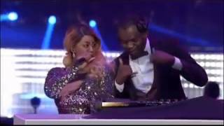 Dj Ganyani ft Layla   Talk to me live at #MMA Awards 2016