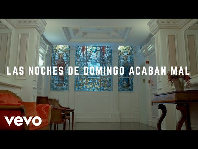 "Video de ""Las noches de domingo acaban mal"" de Joaquín Sabina"