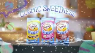 TV Spot - Goldfish Grahams Vanilla Cupcake - Space Explorer - Cosmic Sweetness