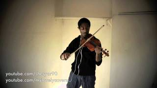 Coldplay/Sheryar90 - Us Against The World Violin, Guitar & Piano Cover (
