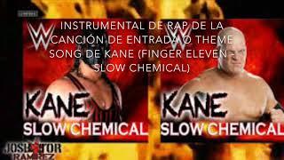 Instrumental de rap de WWE theme song de Kane (Slow chemical por Finger Eleven) Adaptación