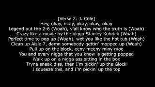 J I D – O Deez Lyrics Ft  J  Cole