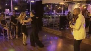 """Lenny & Mio ZOUK with Ezéchiel N'TSAI """"Latin Violin Night"""" @ VIDA LATINA OSAKA"""