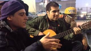 Conde Spaik unplugged Peluca Wolf guitarra freestyle neeko beatbox 2013